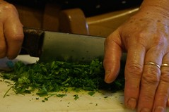 Hands working (silfoglia) Tags: italy cooking kitchen vegetables hands hand working mother knife cutting