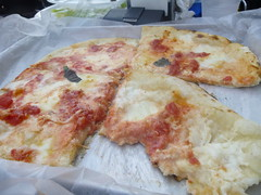 "Margherita pizza <a style=""margin-left:10px; font-size:0.8em;"" href=""http://www.flickr.com/photos/104703188@N06/15437188895/"" target=""_blank"">@flickr</a>"