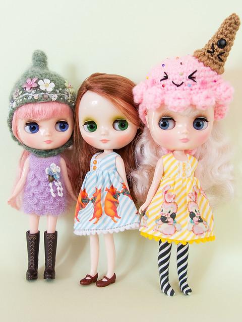 Middie trio