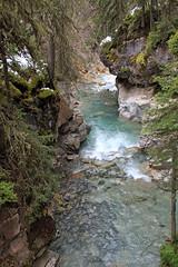 Towards the Bow River (JB by the Sea) Tags: canada rockies alberta banff rockymountains banffnationalpark canadianrockies johnstoncanyon johnstoncreek johnstonfalls september2014