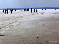 Tuz Gölü  - walking on the salt (altamons) Tags: trip travel vacation people holiday turkey interestingness interesting holidays salt scout explore saltlake tuzgölü scouted explored altamons