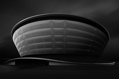 The Hydro (Billy Currie) Tags: city urban white black architecture modern scotland clyde concert long exposure artistic glasgow centre capital architect hydro secc armadillo clydeside veno
