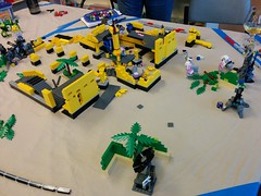 Seattle MoF0's Oct2014 - Game end (dark_syntax) Tags: lego mecha mech moc microscale mechaton mfz mf0 mobileframezero