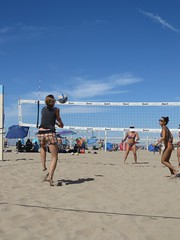 10/4/14 CBVA Huntington Beach (BOMBTWINZ) Tags: ocean sea game beach water palms pier paradise huntington woody beachvolleyball tournament socal skate volleyball huntingtonbeach cbva bombtwinz