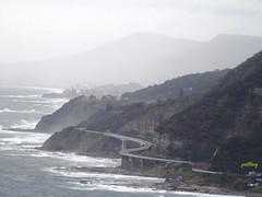 Sea Cliff Bridge (pat.bluey) Tags: mist rain australia newsouthwales 1001nights southcoast seacliffbridge 1001nightsmagiccity