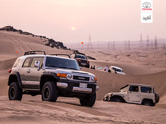 (Toyota Saudi Arabia) Tags: fj cruiser
