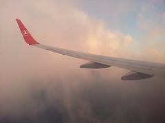 TK2933 (emir bakan) Tags: sky cloud sun clouds saw flight istanbul antalya deniz heybelia