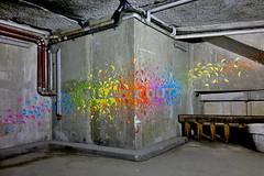 13A - Halle Freyssinet (o_Ouissem) Tags: street streetart paris art nuitblanche paris13 pochoirs hallefreyssinet mademoisellemaurice