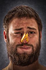 (Olio | www.rmpics.it) Tags: portrait selfportrait smell apnea clothespin strobist tamronspaf1750mmf28xrdiiildasphericalif canoneos450d cactusv4 yongnuo canonspeedlite430exii yongnuospeedliteyn460ii