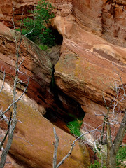 """Stream running down Red Sandstone formation • <a style=""""font-size:0.8em;"""" href=""""http://www.flickr.com/photos/34843984@N07/15520759916/"""" target=""""_blank"""">View on Flickr</a>"""