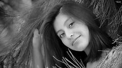 Hello! (Blas Torillo) Tags: portrait people bw woman byn blancoynegro face méxico mexico blackwhite mujer nikon gente retrato cara diana puebla rostro professionalphotography fotografíaprofesional mexicanphotographers d5200 fotógrafosmexicanos nikond5200