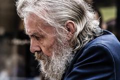 Seen again (pootlepod) Tags: street portrait man colour male face closeup photography stphotographia streetlevelphoto