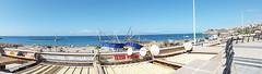 Playa de Torviscas & Playa de Fanabe Panorama (Ian R. Simpson) Tags: ocean sea spain bars restaurants atlantic promenade beaches tenerife shops canaryislands costaadeje playadefanabe playadetorviscas