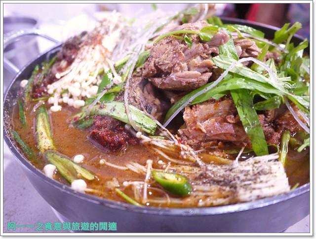捷運行天宮站美食韓劇韓式料理東輝韓食館土豆豬骨湯銅板烤肉image033