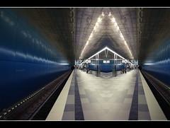 U4, berseequartier (amdolu) Tags: hamburg ubahn spiegelung berseequartier