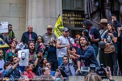 EM-141014-OWS-020 (Minister Erik McGregor) Tags: nyc newyorkcity newyork art revolution activism occupation 2014 ows russellbrand rustyrockets occupywallstreet owsnyc erikrivashotmailcom erikmcgregor 9172258963 ©erikmcgregor solidarity