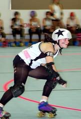 DSC_0088 (Bawdy Czech) Tags: city girl oregon lava october track dolls flat bend or rollerderby kittens skate roller skater mean derby cinder bout 2014 lcrd wtfda cinderkittens