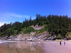 Where the beach walk ends (Mashthetics) Tags: beach oregon coast pacific or pacificnorthwest manzanita pacnw