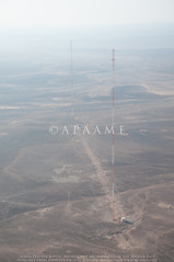 Radio Towers (APAAME) Tags: archaeology ancienthistory middleeast airphoto aerialphotography aerialarchaeology