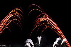 Firework Red and White (MAZA Art) Tags: hongkong disneyland firework