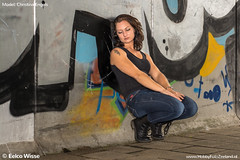 ChristinaEngels-35 (Eelco Wisse) Tags: graffiti shoot photoshoot christina tunnel zeeland engels vrouwenpolder