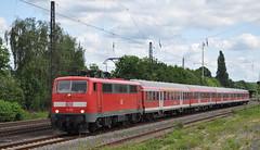 111 113 Bonn-Mehlem 24.05.2014 (hansvogel51) Tags: train germany deutschland bonn eisenbahn db br111 eloks
