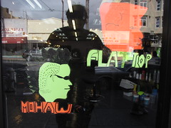 kool kutz (electrofreeze) Tags: haircut store display barber mohawk flattop