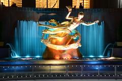 New York City (Billy W Martins ) Tags: newyorkcity ny newyork lights nikon manhattan rockefellercenter citylights overexposure d7100