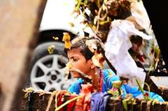 The Garbage Boy (Ami VONDo) Tags: boy children garbage nikon child cleaning labour dust bangladesh collector mehrab saifuzzaman