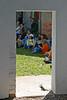 fascinated (Dieter Drescher) Tags: children parents kinder doorway fascination adults eltern fascinated erwachsene zuschauer captivated gefesselt lookerson fasziniert türöffnung dieterdrescher