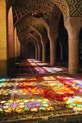 Shiraz (cranjam) Tags: light reflections carpet iran islam middleeast persia stainedglass mosque shiraz riflessi luce moschea tappeto vsco nasiralmulkmosque masjedenasiralmolk ایران شیراز مسجدنصیرالملك
