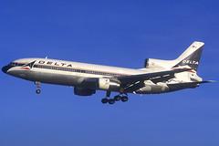 Delta L.1011-500 N755DL BCN 11/12/1994 (jordi757) Tags: barcelona airplanes bcn delta lockheed tristar l1011 avions elprat lebl n755dl