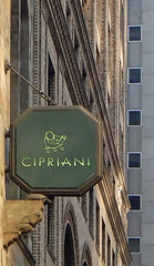 Cipriani - East 42nd Street (TheMachineStops) Tags: 2016 outdoor nyc newyorkcity manhattan midtown cipriani cityscape windows sign text