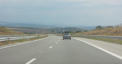 A4: dünn besiedelter Südosten Bulgarien am Dreiländereck