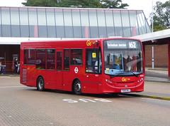 GAL SE267 - YX65RKJ - ELTHAM STATION - FRI 16TH SEPT 2016 (Bexleybus) Tags: go ahead goahead london metrobus adl dennis enviro 200 eltham bus station train rail se267 yx65rkj