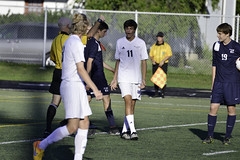 Manny's yellow card-7 (pics by jane) Tags: bobcatstadium bobcatsoccer varsity wellington boyssoccer