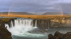 Godafoss (Sergey-Aleshchenko) Tags: waterfall rainbow iceland landscape nikon d800 visipix