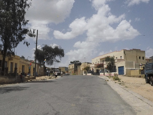 Along the main road between Asmara and Massawa, Eritrea