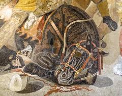 Detail - Alexander Mosaic - National Archaeological Museum Naples DSC02141 (Chris Belsten) Tags: italy classicalart herculaneum museum napoli art pompeii treasures nationalarcheologicalmuseum sculpture naples greekart classical mosaics romanart mosaic portraits romansculpture archaeology