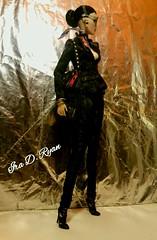 SLAYER (krixxxmonroe) Tags: ira d ryan photography krixx monroe styling fashion royalty nu face fr2 opium ayumi black brocade suit by the vogue hong kong