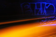 BusIFuldFart (joditiger06) Tags: bus fuld fart yellow speed tunnel roskilde bl blue grafitti flash 2016 canon 1200d htbus ht