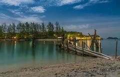 Chilling time (aurlien.leroch) Tags: night stars thailand thalande kohphangan beach chilling landscape nikon d7100 longexposure