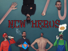 the avengers- New Heros (Lukinator) Tags: avengers new heros fujifilm finepix hs20 neue helden held mario luigi super brows batman snakeman schlangenmann superman funny fun photoshop manipulation manipulated manipuliert pizza edited edifice red rot green grn black schwarz rcken move back schrift writing schriftzug editing