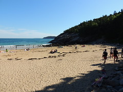 Sandy Beach (dale52.5) Tags: sandybeach acadia maine vacation outdoor landscape shore beach coast