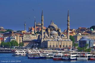 Istanbul Golden Horn Eminönü