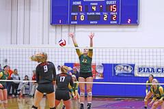 IMG_6891 (SJH Foto) Tags: girls volleyball high school allentown central catholic somerset team teen teenager net battle spike block action shot jump midair burst mode