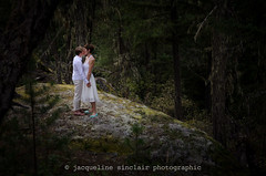 First Look (Jacqueline Sinclair) Tags: wedding forest trees bride brides pride pemberton love kiss private first look nature