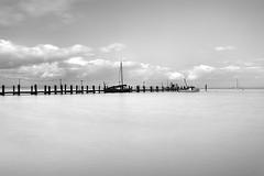 Afternoon Calm (Eunice Eunjin Oh) Tags: ca seascape calmness outdoorphotography santacruz sanrafael longexposure leefilter tide serenity