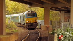Britannia Bridge -18th. (peterdouglas1) Tags: arrivatrains britanniabridge a55expressway class67s