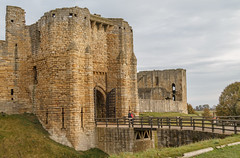 Warkworth Castle, bridge over the moat (Beth Hartle Photographs2013) Tags: castle northumberland warkworth percy historic